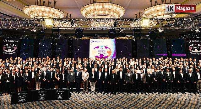 Kibar Holding 45. yılında Biz Birlikte Güçlüyüz Dedi