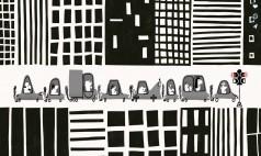 İstanbul Trafiğini Anımsatan Eğlenceli Animasyon
