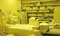 Ofiste Post-It'lerden Şelale Yaptı